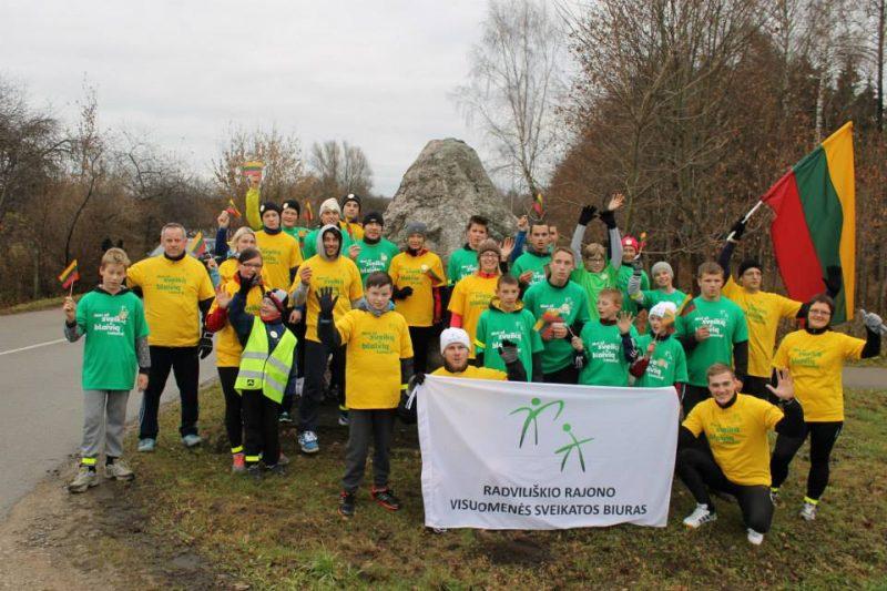 Bėgimas už blaivią ir sveiką Lietuvą