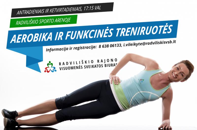 Aerobika @ Radviliškio miesto sporto arena