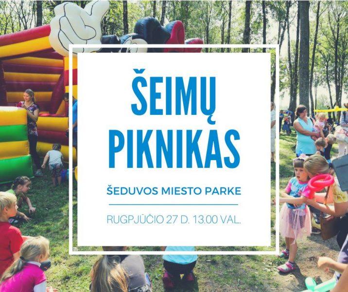 """Sveikatos palapinė renginyje """"Šeimų piknikas"""" Šeduvos miesto parke"""